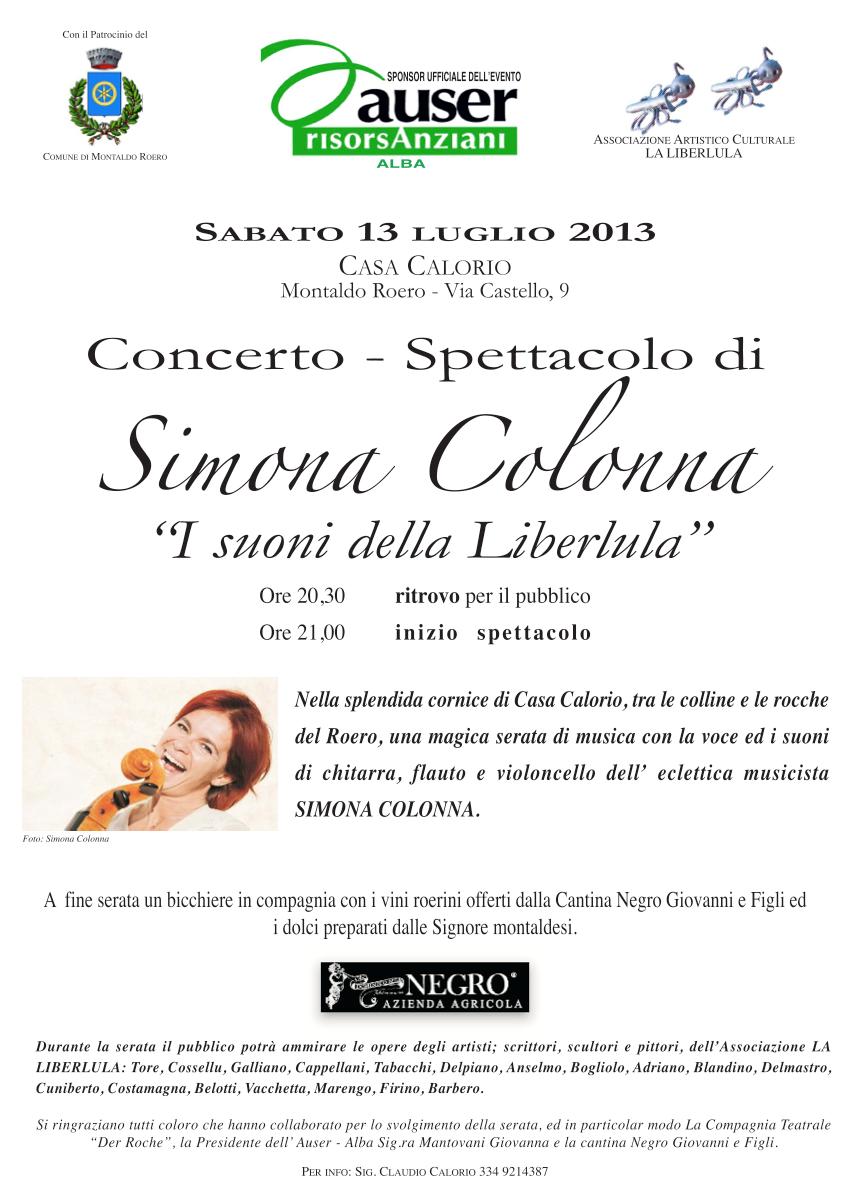 Concerto Simona Colonna