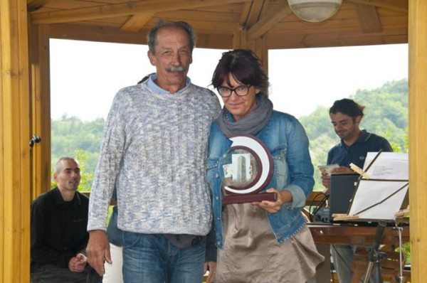 Vincitrice del Premio Torre di Merana alla ribalta di San Fermo a Merana (AL).